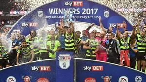 El Huddersfield está viviendo un 2017 inolvidable