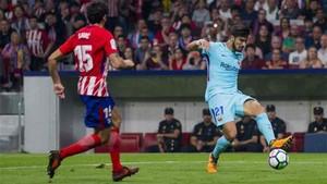André Gomes jugó ante el Atlético de Madrid