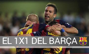 El 1x1 del Villarreal-Bar�a
