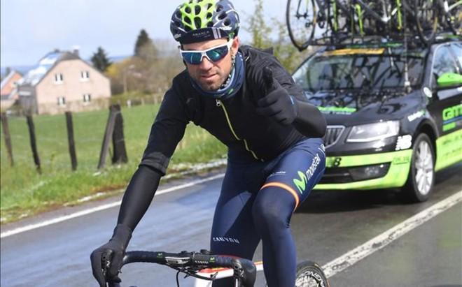 Alejandro Valverde hace este a�o su debut en el Giro de Italia