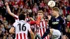 El Athletic se enfrentó al Hertha en San Mamés