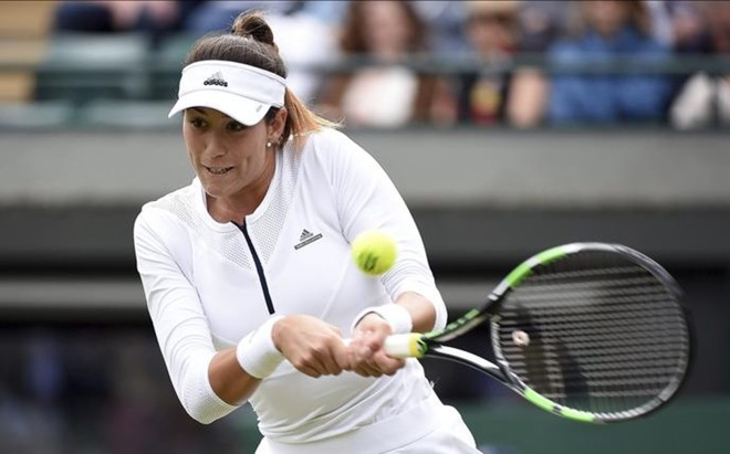 Garbi�e Muguruza admite que quiz� habr�a sido mejor descansar tras ganar en Roland Garros