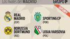 Grupo F de la fase de grupos de la Champions League