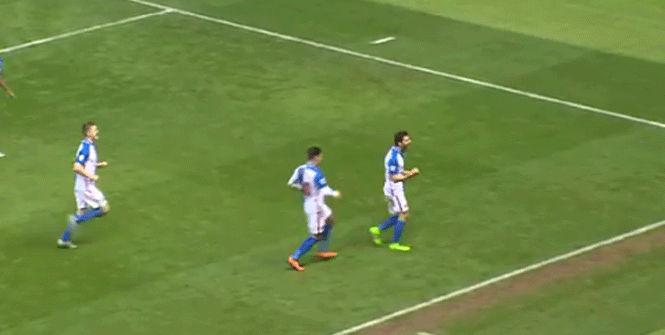 Jordi G�mez debuta con gol en el Blackburn Rove