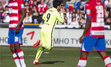 Los goles del Granada - Bar�a