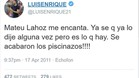 El d�a que Luis Enrique elogi� a Mateu Lahoz