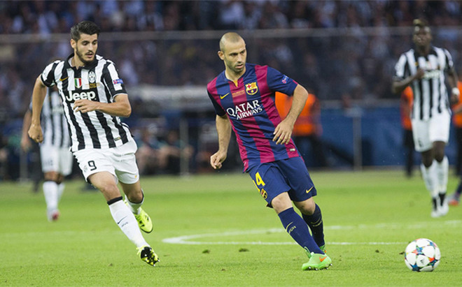 Mascherano podr�a acabar en la Juventus