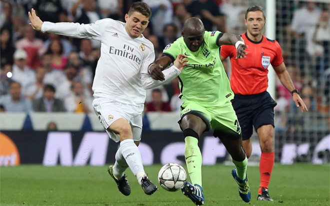 Mateo Kovacic, durante el Real Madrid - Manchester City