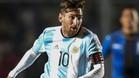 Messi, duda para el debut de Argentina en la Copa Am�rica