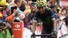 Nairo Quintana pas� una mala jornada, pero acab� recuper�ndose