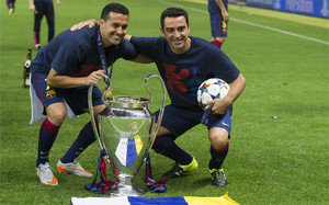 Pedro y Xavi