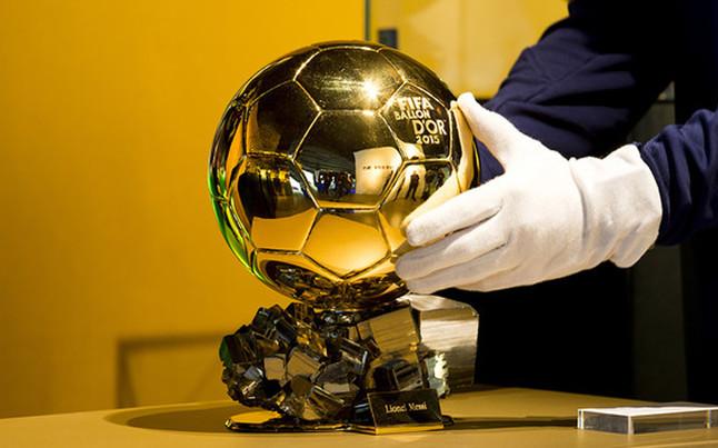 El quinto Bal�n de Oro de Leo Messi ya luce en el Museo del Bar�a