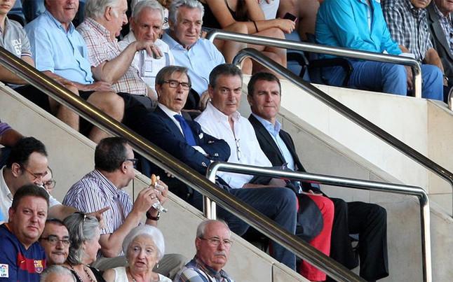 Robert estuvo en El Madrigal viendo a Denis Su�rez