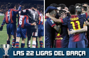 El Barça suma un nuevo título de Liga a su palmarés