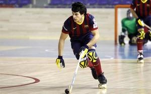Pablo Álvarez es el máximo realizador azulgrana en esta OK Liga con 13 goles