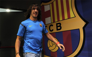 Puyol jugará con el Barcelona
