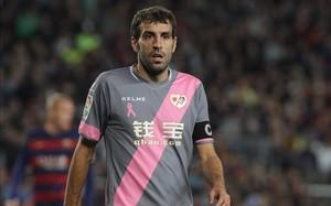 Roberto Trashorras, jugador del Rayo Vallecano.