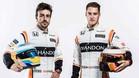 Alonso y Vandoorne, el tandem de McLaren