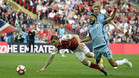 Bellerín disputó la prórroga ante el Manchester City