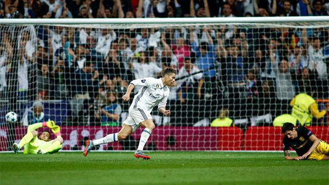 Las mejores imágenes del Real Madrid - Atlético de Madrid
