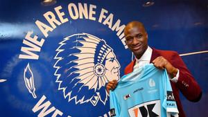 Mamadou se ha presentado este lunes como jugador del Gent por las próximas cuatro temporadas