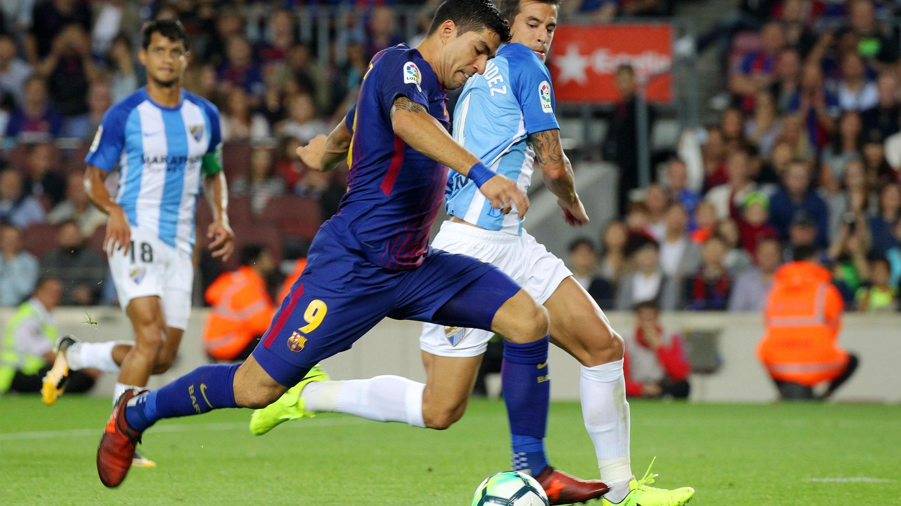 LALIGA | FC Barcelona - Málaga (2-0): Todas las ocasiones de Luis Suárez