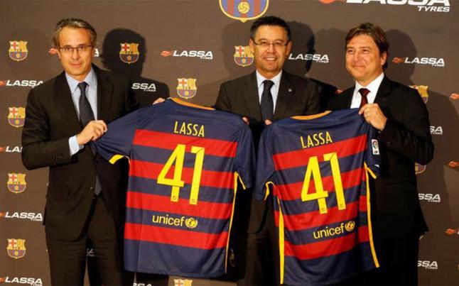 Lassa Tyres, nuevo patrocinador principal de las secciones del FC Barcelona