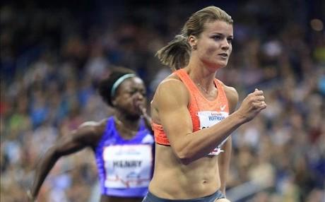 Dafne Schippers, la holandesa 'voladora' volvi� a asombrar