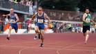 Angel David Rodriguez logró su décimo título nacional en los 100 metros
