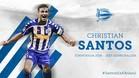 Christian Santos ficha como hombre-gol del Alavés