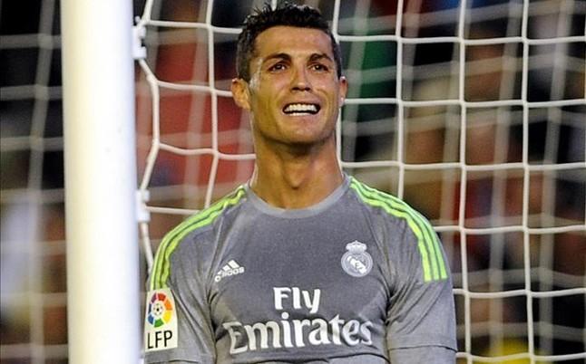 Cristiano Ronaldo, celoso