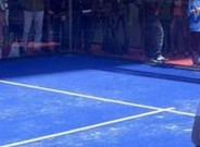 Djokovic tuvo un compa�ero de lujo en su pachanga: Juan Mart�n D�az
