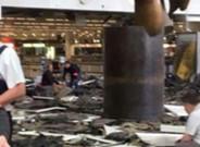 La explosi�n en el aeropuerto de Bruselas sorprendi� a la expedici�n del KAS Eupen en la terminal