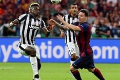 Pogba se midi� al FC Barcelona en la final de la Champions League del a�o pasado