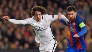 Rabiot jugó ante el Barça pese a sufrir una infección pulmonar