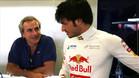 Sainz, junto a su hijo en un Gran Premio de F1