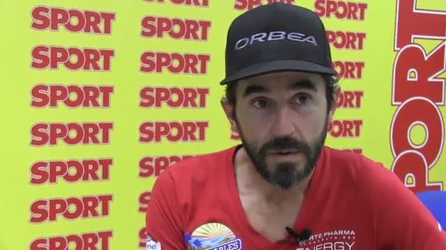 Santi Mill�n, un amante de los deportes extremos