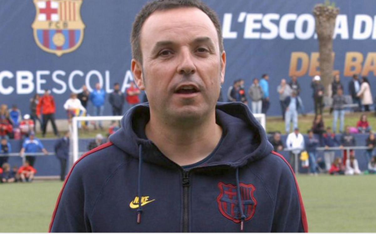 El ex Director de la FCBEscola, Xevi Marc�, se va al Manchester City