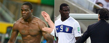 Balotelli pide perd�n por el incidente con su camiseta