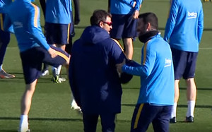 Feeling total entre Arda y Luis Enrique