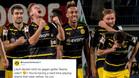 El Dortmund vacila al Madrid por Twitter