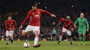 Ibrahimovic culminó su triplete con un gol de penalti