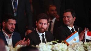 Messi, durante su estancia en Egipto