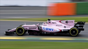 El Force India VJM10, en pista