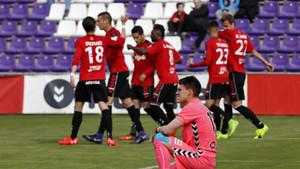 El Nàstic se ha llevado tres puntos de oro de Valladolid