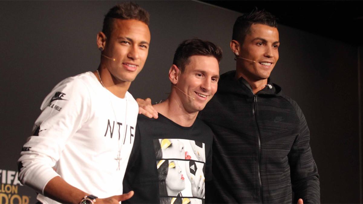 'Neymar se está imponiendo a Messi y Cristiano Ronaldo'
