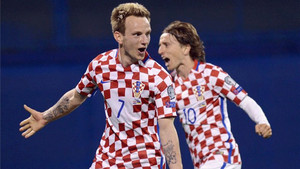 Rakitic y Modric no estarán en Tallin
