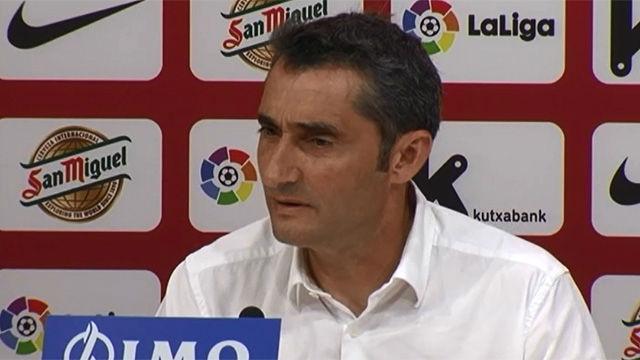 Valverde, emocionado en su despedida