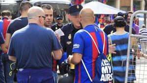 La final de Copa, rodeada de fuertes medidas de seguridad