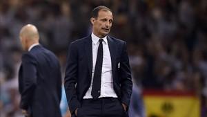 Allegri ha ganado siete títulos con la Juventus